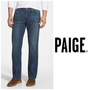 Paige Doheny Classic Straight Leg Jeans 👖